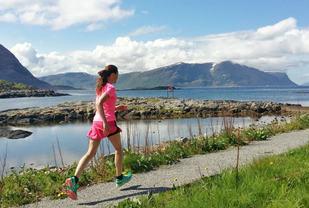 Det er utrolig mange fine steder å løpe, og så rekker man over så mye mer.