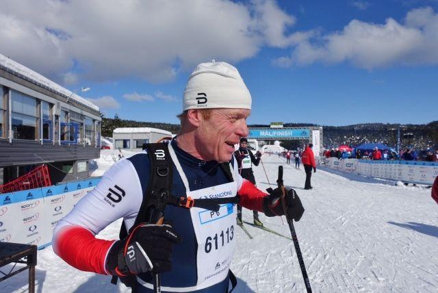 Skikongen kan fortsatt gå fort på ski. (Foto: Finn Olsen)