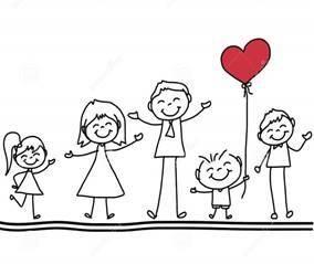Illustrasjon - familie