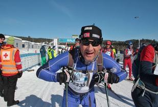 Jeg fant da fram til Birkebeineren Skistadion etter hvert.(Foto: Finn Olsen)