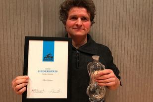 Thor Gotaas får hedersprisen. Foto: Randi Bolstad, Birkebeinerrennet