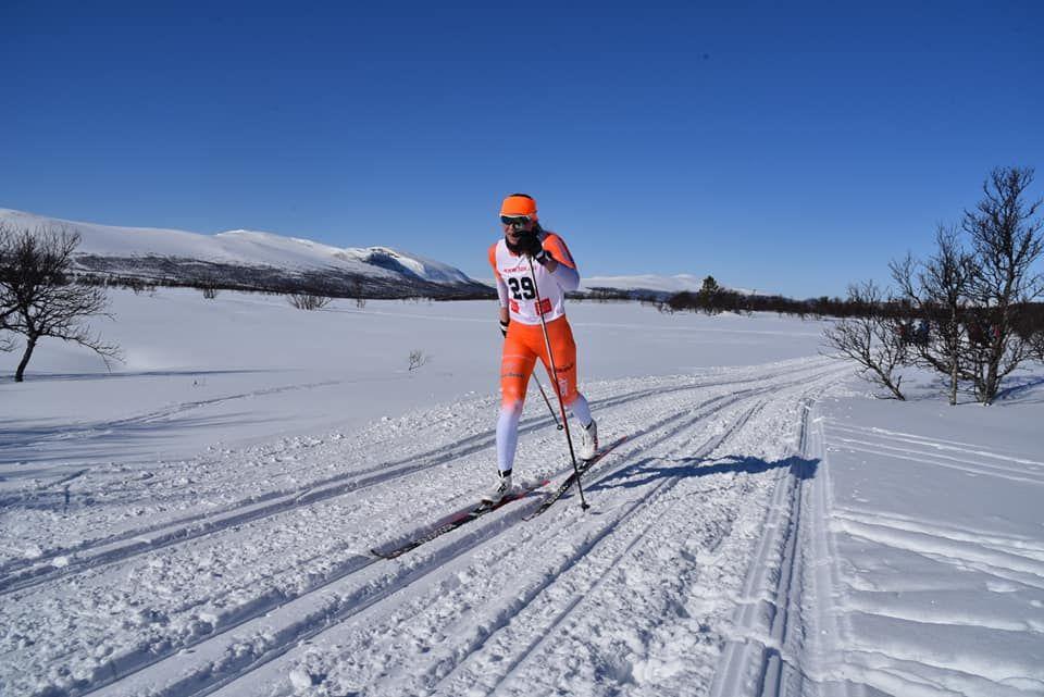 Hanne Skulbru på veg til nok en seier i Narkuten. (Foto: Pål Ove Lilleberg)