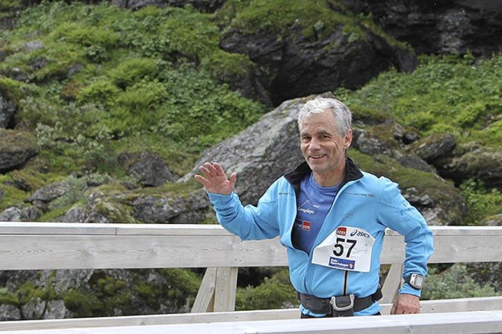 Gunnar Skandsen har fått trent godt i vinter og skal løpe Rotterdam Marathon nå på søndag. (Foto: Runar Gilberg)