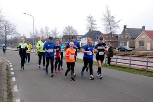 Fra årets Klap tot Klaploop som gikk 2. påskedag med i overkant av 900 deltagere (Arrangørfoto).