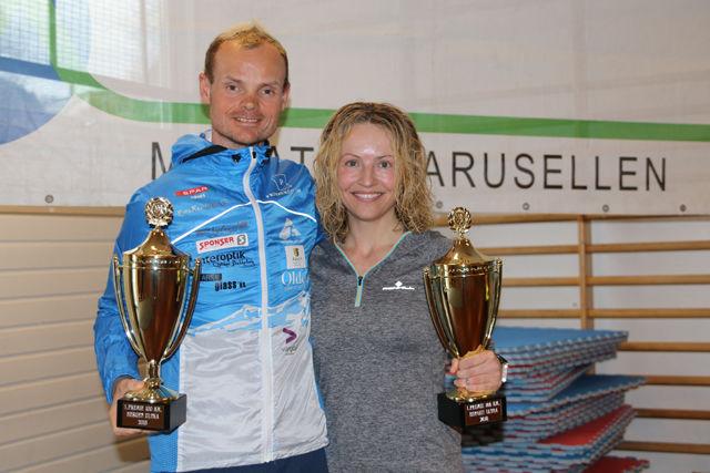 Bjørn Tore Taranger og Therese Falk best på 100 km