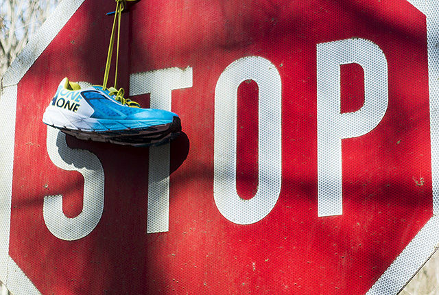 Noen ganger er det mer krevende å stoppe enn å fortsette. (Foto: Bjørn Johannessen)