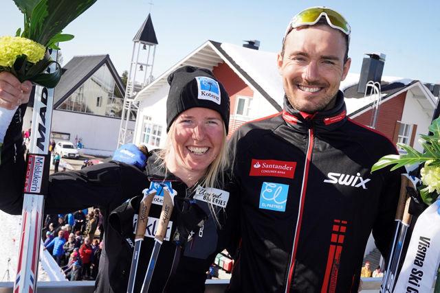 Astrid Øyre Slind og Andreas Nygård. Foto : Arrangøren