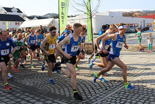 47 fullførte i konkurranseklassene i Ørasprinten på lørdag. (Alle foto: arrangøren)