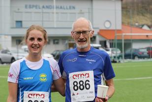 Kristine Fjellanger og Øyvind Bernes raskest i sesongens siste karusell