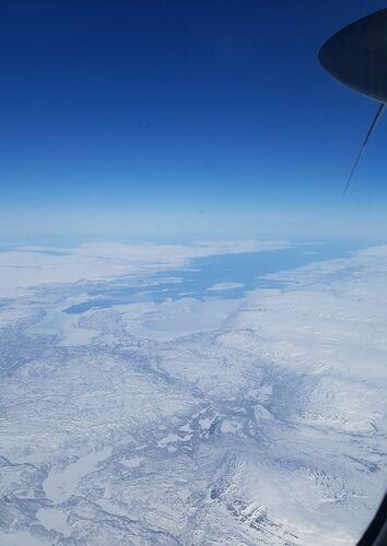 Flytur over Lakselv