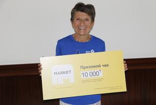 Vera Nystad ble klassevinner og beste norske på maraton.