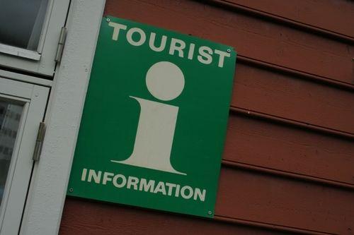 turistinformasjon, skilt, informasjon