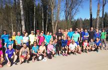 44 deltakere på Kondistreninga 8.mai