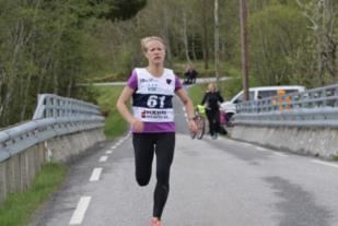 Eline Fannemel, Hornindal IL raskeste dame i 2017. Foto: Martin Hauge-Nilsen