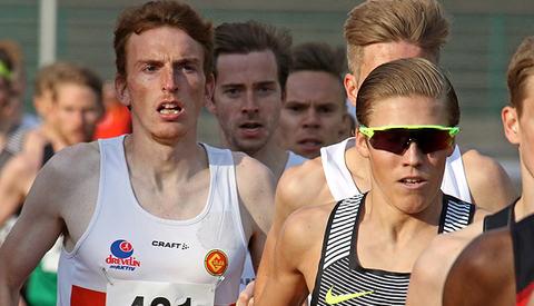Marius Vedvik vant Arne Risa 3000m Classic, Simen Halle Haugen inn på en sterk 3. plass.