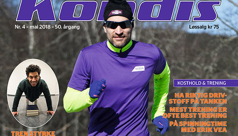 Jann Post har på kort tid trent seg opp til å bli en av landets beste maratonløpere. (Foto: Bjørn Johannessen)