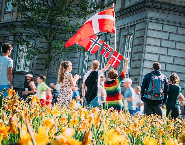 Det beste København Marathon? Det var vårblomster, sommervarme og stor stemning i København søndag. Foto: arrangøren