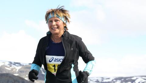 Fjellmaraton: Grete har vært med på Fjellmaraton på Beitostølen flere ganger. Her fra 2012. Foto: Silja Svanstrøm Amundsen