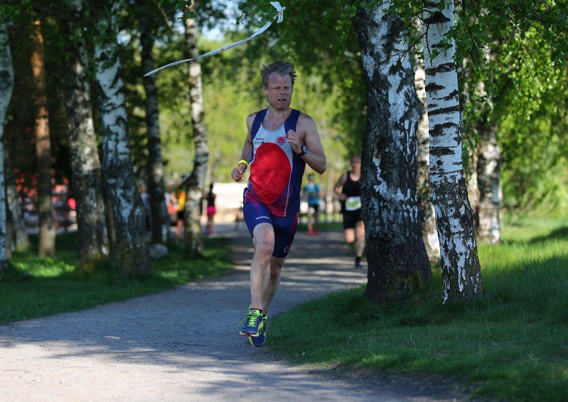 Ole Gorm Berg løp fortest på baneløpet på Lillestrøm. Her er han på et annet ABIK-løp på Lillestrøm i fjor. (Foto: Bjørn Hytjanstorp)
