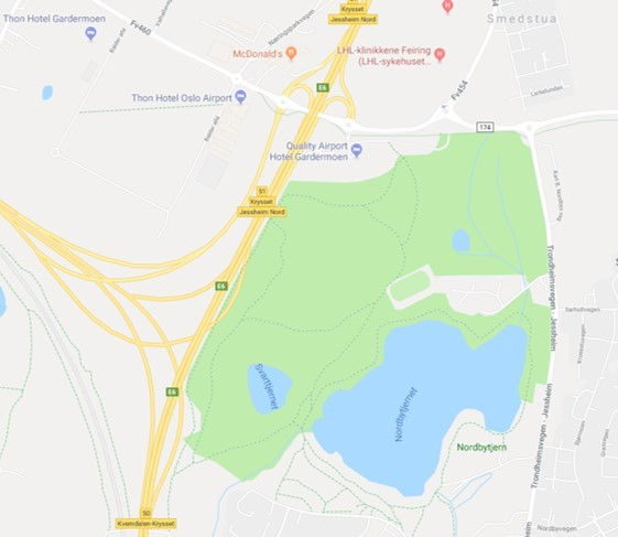 nordbytjernet kart Nytt løp: Blodomløpet på Jessheim lørdag 9. juni   KONDIS   norsk  nordbytjernet kart