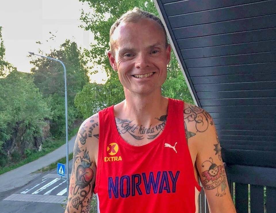 Den norske troppen til EM 24-timers i september er nå supplert med Bjørn Tore Taranger. Bildet er fra EM 2018 der han løp inn til en glimrende 7. plass.
