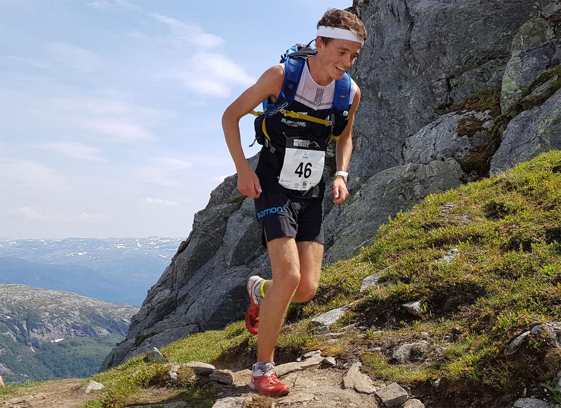 Stian Øvergaard Aarvik på vei mot ny seier