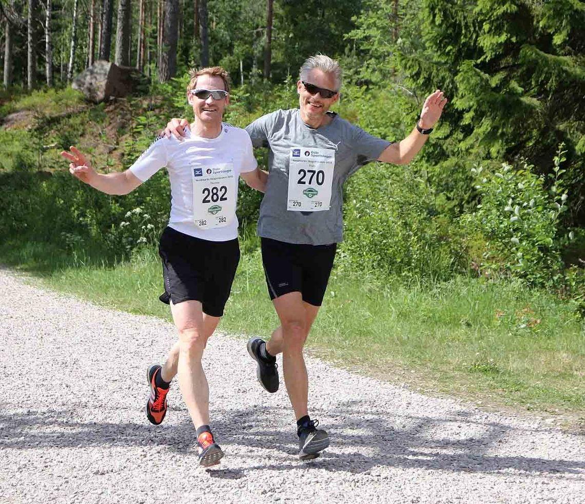 Aldri har så mange deltatt i Nordmarka Skogsmaraton som i 2018. For første gang passerte man også 1000 deltakere!