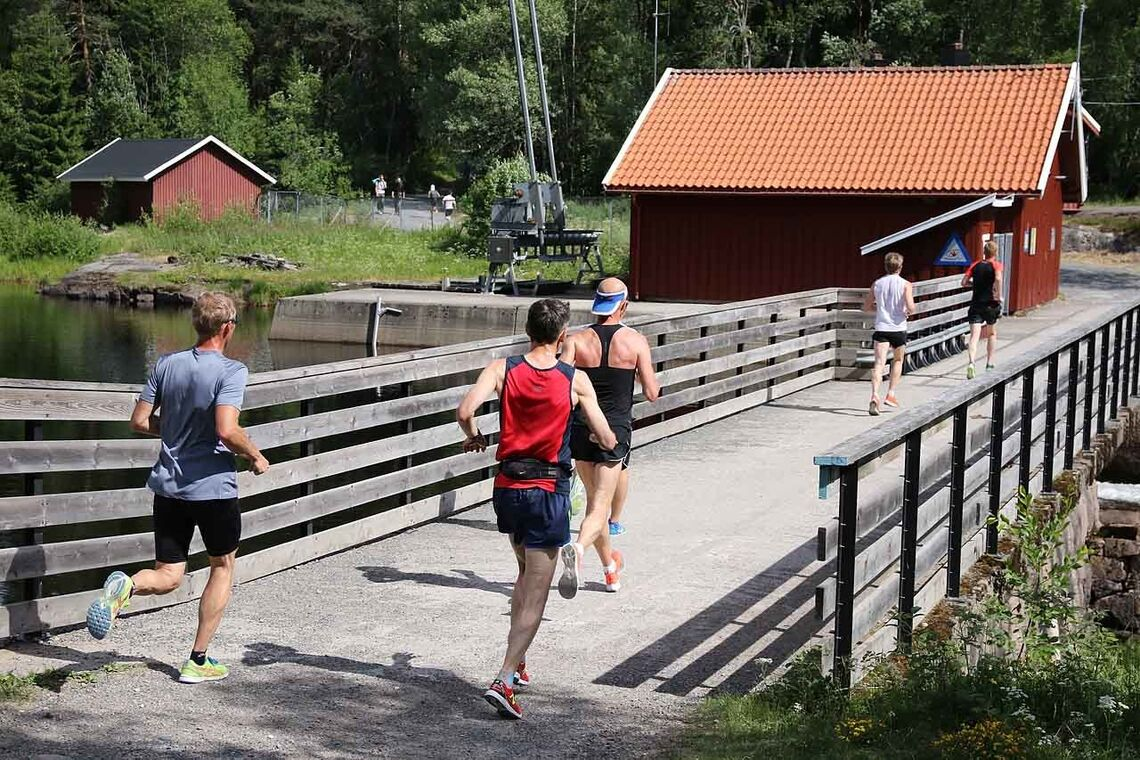 Det blir en mindre sommerlig versjon enn vanlig av årets Nordmarka Skogsmaraton. (Foto: Runar Gilberg)