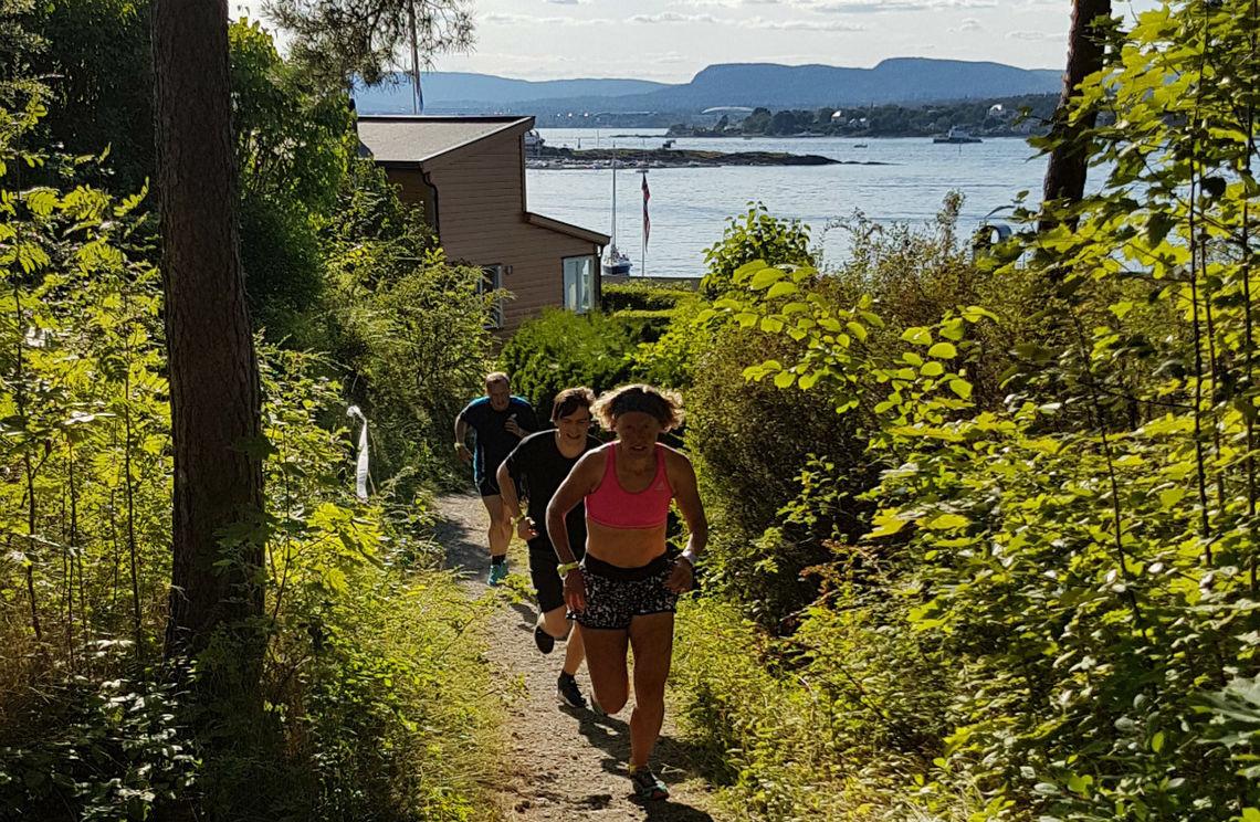 Fra Lindøya Rundt i fjor. Foto: Gerard Corneliussen