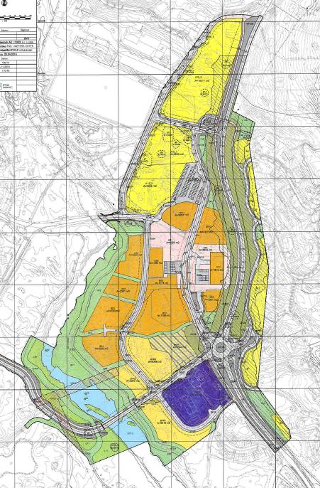 Hovden sentrum områdeplan