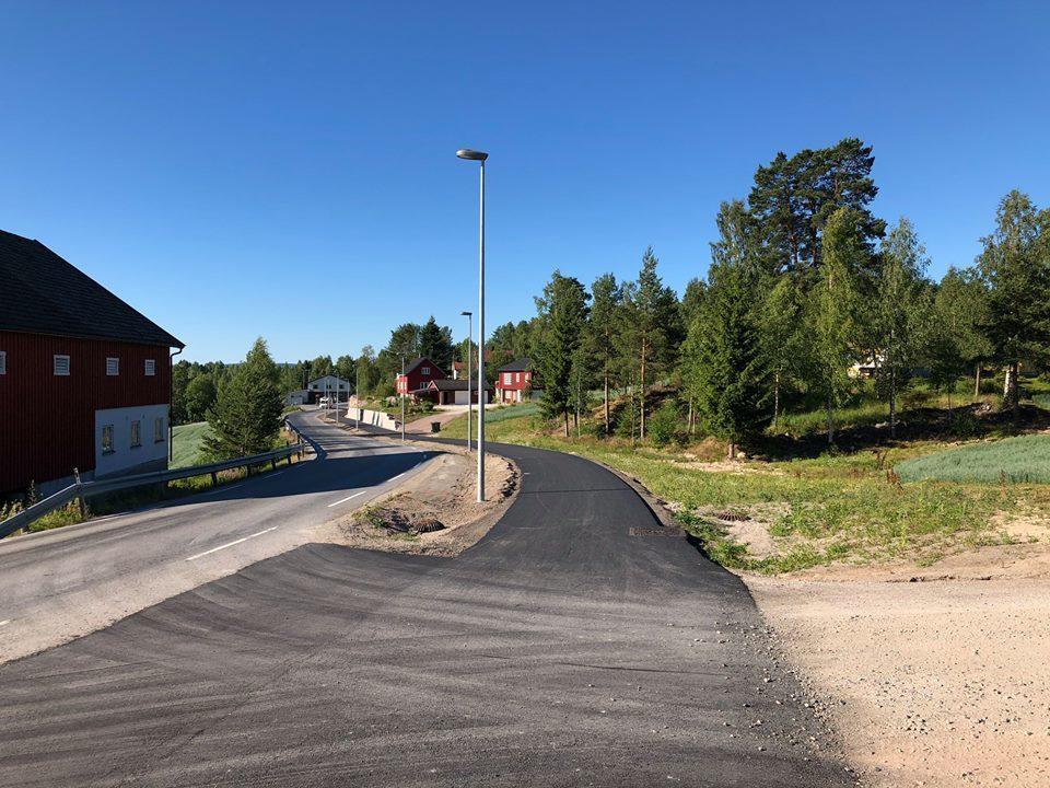 Offisiell gang og sykkelvei