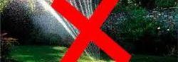 vanningsforbud