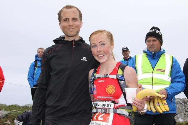 Thorbjørn Ludvigsen og Eli Anne Dvergsdal på toppen etter deira sigrar i 2015. (Alle foto: Arrangør)