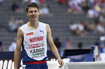 Tom Erling Kårbø sprang godt i EM, og no er han klar for NM. (Foto: Bjørn Johannessen)