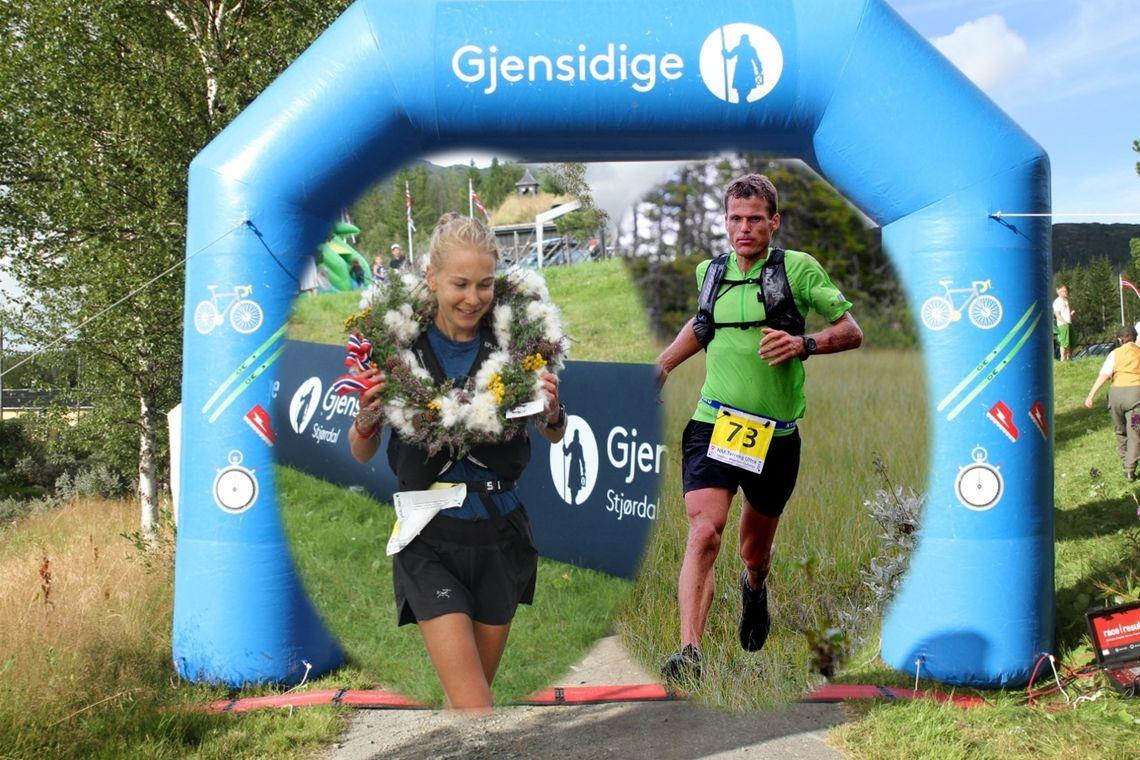 NM-vinnerne Henriette Brynthe og Hallvard Schjølberg. (Foto: Olav Engen og Arne Brunes)