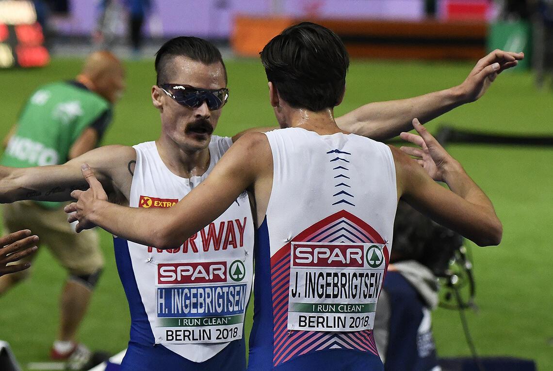 I møte med noe av de aller beste løperne i verden tok Henrik og Jakob Ingebrigtsen hver sin tredjeplass. (Arkivfoto: Bjørn Johannessen)
