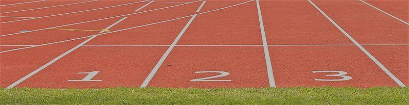 Bilde av friidrettsbane