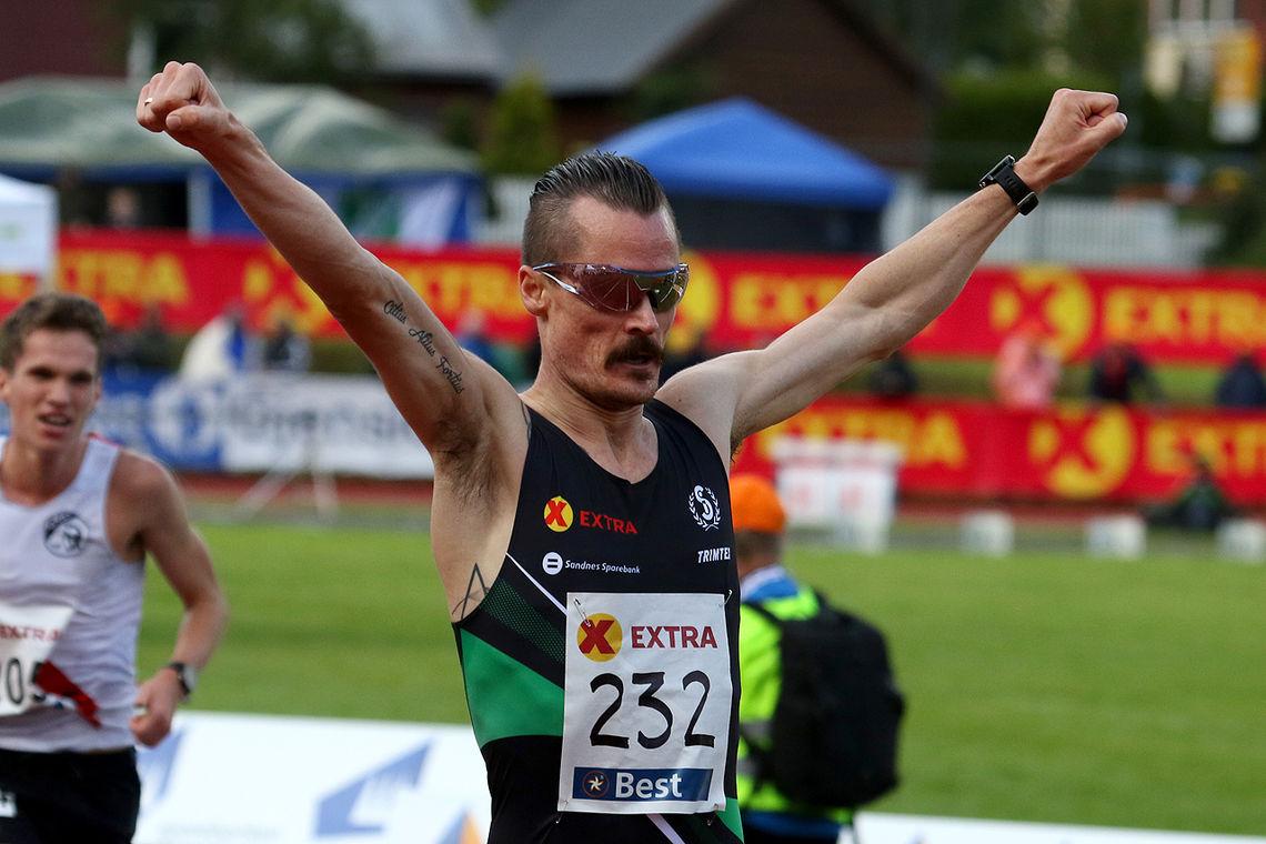 Henrik Ingebrigtsen med full kontroll på 5000 meter