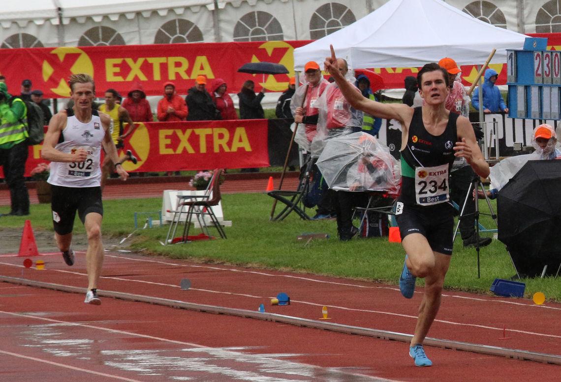 Jakob Ingebrigtsen tok gullet på 1500 meter