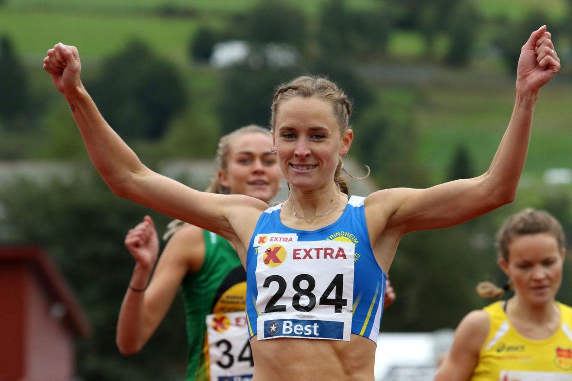 Hedda Hynne tar NM-tittelen på 800 meter