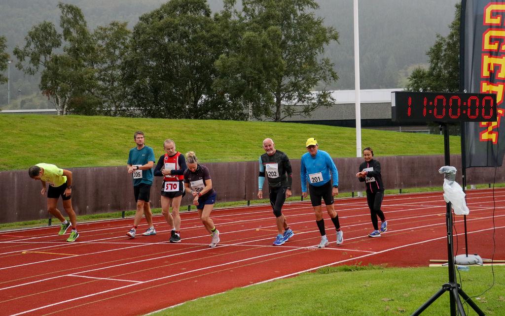 Start for maraton. Foto: Martin Hauge-Nilsen.