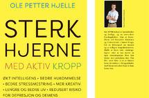 Slik ser den ut, den nye boka som hjerneforsker og maratonløper Ole Petter Hjelle har skrevet.