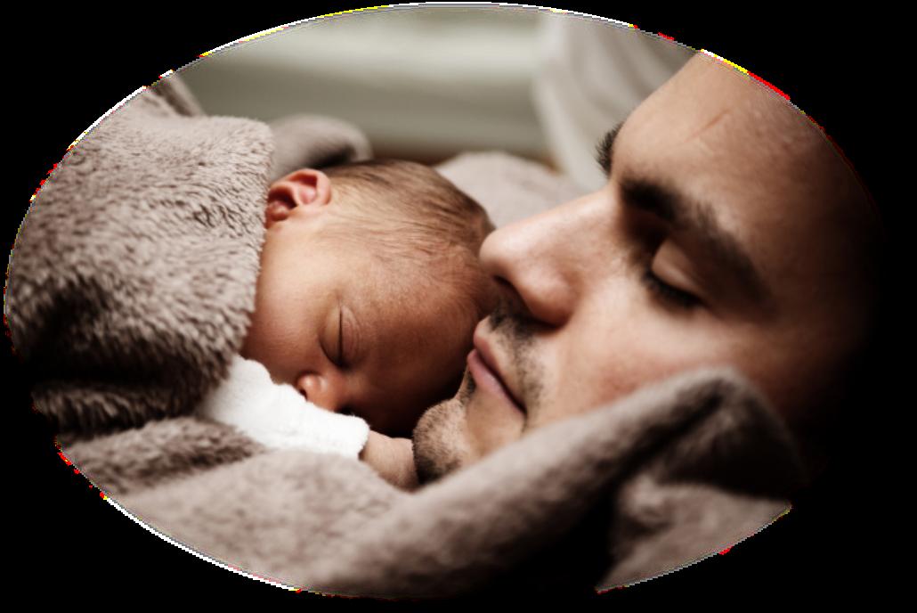Illustrasjonsbilde til Foreldrekurs brosjyre - far og barn.png