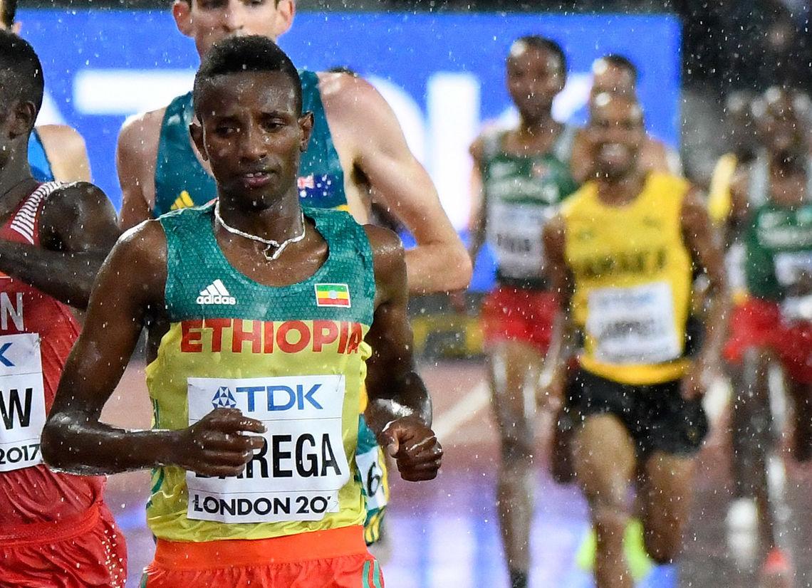Selemon Barega har i alle fall foreløpig tatt over 10 000 m-tronen. (Arkivfoto: Bjørn Johannessen)