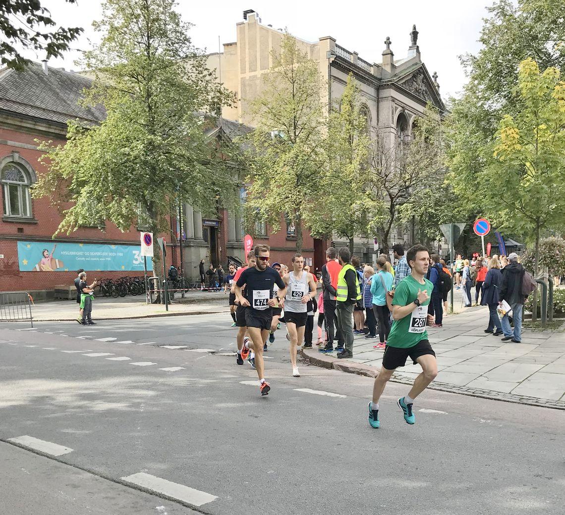 Start maraton foto Sol Haugen