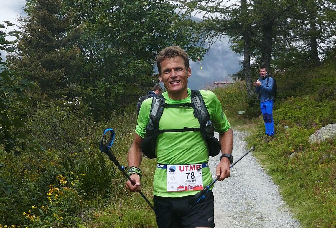 Hallvard Schjølberg fikk til det løpet han håpet på - og vel så det. (Foto: Elisabeth Borgersen)