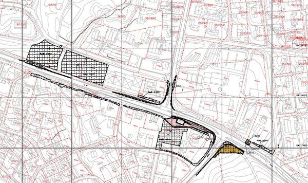 Plakart oppgradering av fv 128 gjennom sentrum