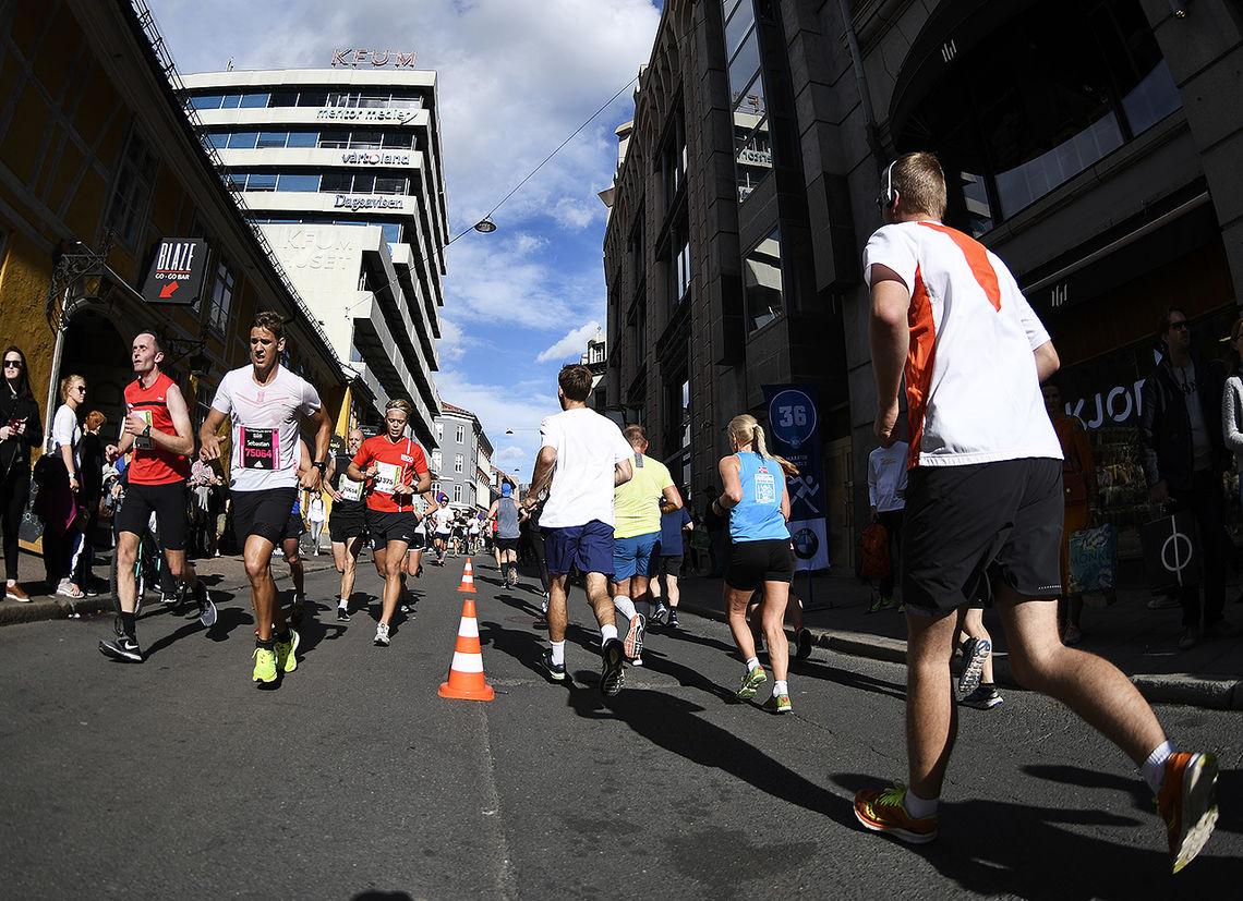Norwegian Majors er en samling av ni ulike løp i Norge innenfor distansene maraton, halvmaraton og 10 kilometer. (Illustrasjonsfoto: Bjørn Johannessen)