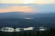 Sommerkveld på Sellanrå i Maridalsalpene