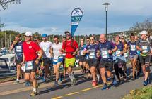 4.30-pulje i Oslo Maraton. (Foto: Ole Arne Schlytter)